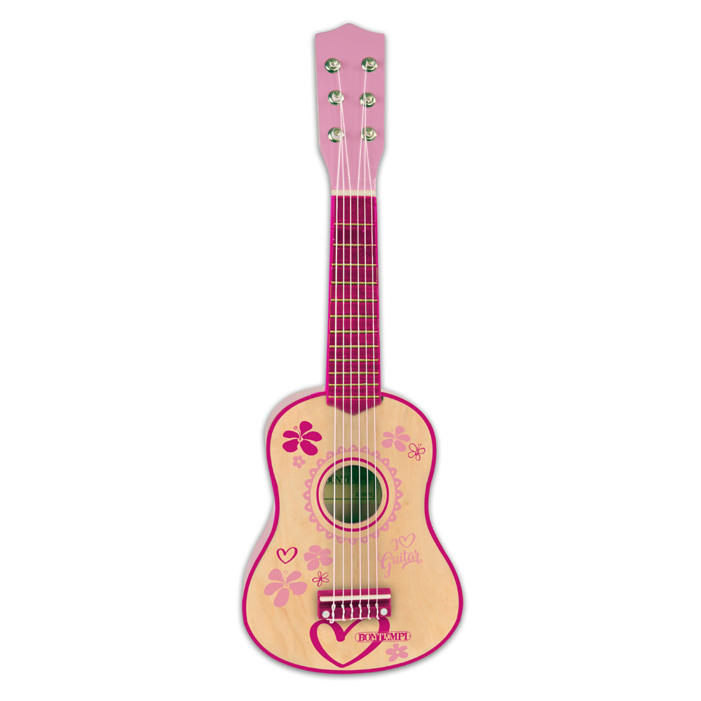 Bontempi Childrens Wooden Guitar with 6 strings